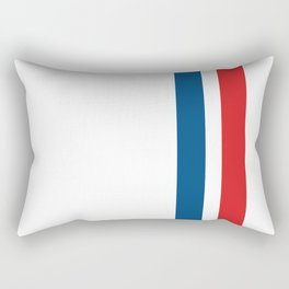McQueen – Red and Blue Stripes Rectangular Pillow