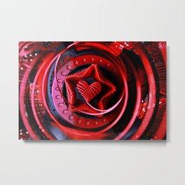 Heart Love Metal Print