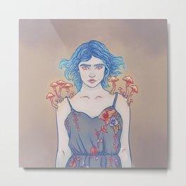 Armillaria Lady Metal Print