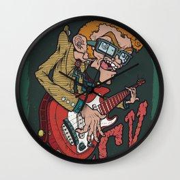 Rock ! Wall Clock