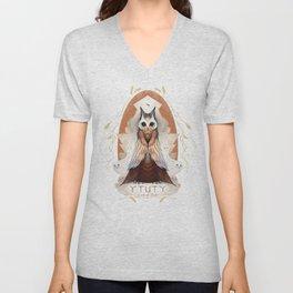 Ytuty Lord of Owls Unisex V-Neck