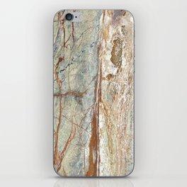 Brown onyx home decor marble texture photo print iPhone Skin