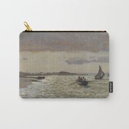 The Seashore at Sainte-Adresse Carry-All Pouch
