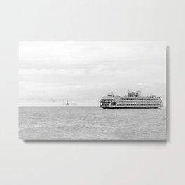 Staten Island Ferry Metal Print