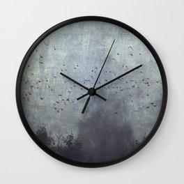 fantasmas Wall Clock