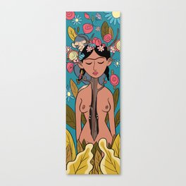Frida Spring Canvas Print
