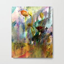 flowers on the field Metal Print