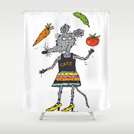 Mouse Shower Curtain