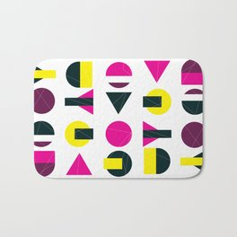 rasberry and lemon with litlle darkness Bath Mat
