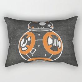 Chalkboard BB-8 (Orange) Rectangular Pillow