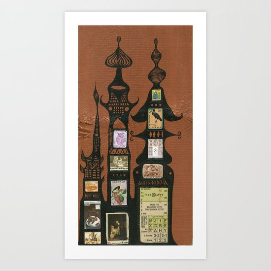 I Love You, Hundertwasser #1 Art Print