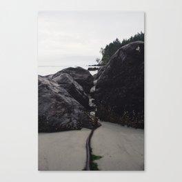 Through the Rocks Canvas Print