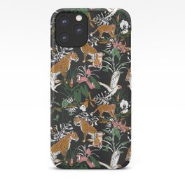 Leopards at night iPhone Case