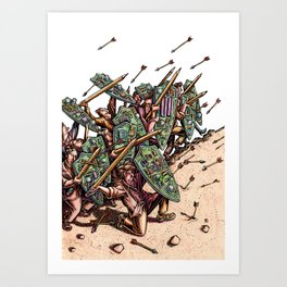 Internet Security Warriors Art Print