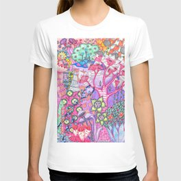 Trippy Forest Full Version T-shirt
