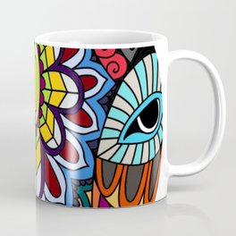 Tribal ceremonial mask Coffee Mug