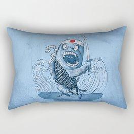 Samurai sushi Rectangular Pillow