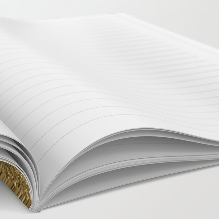 Gold marble collage Notebook
