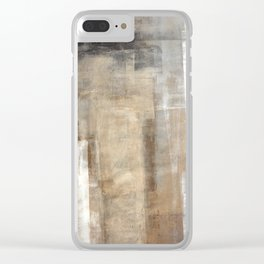 Man Style Clear iPhone Case