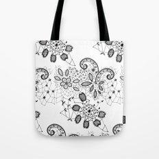 Lace 3 Tote Bag