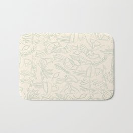 Birds in Green Paradise Bath Mat