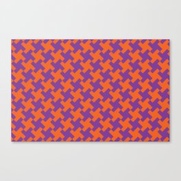 Glen Plaid Canvas Print