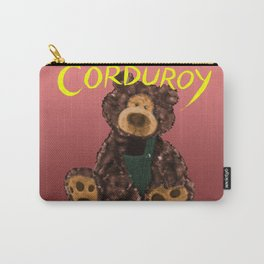 Corduroy Carry-All Pouch