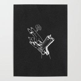 Kill ´em (black) Poster