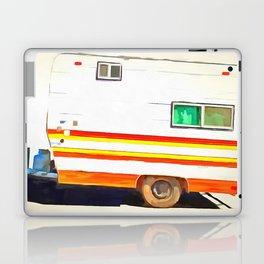 Vintage Camping Trailer Pop Laptop & iPad Skin