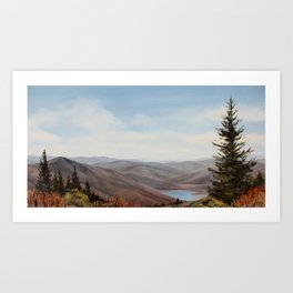 Reservoir Art Print