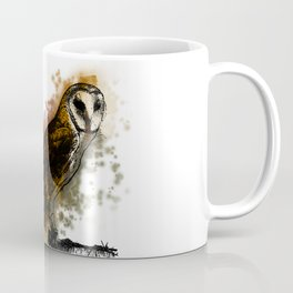 the owl looked up to the stars above Coffee Mug