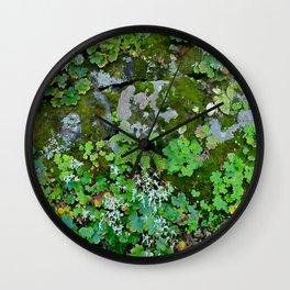 moss wall Wall Clock