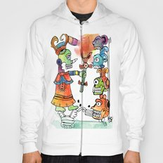 Witchdoctor, inspired by Frida Kahlo Hoody