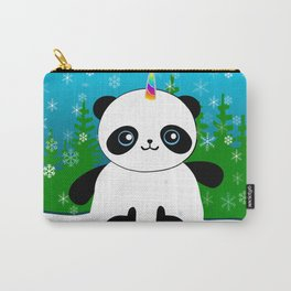Pandacorn in a Snowglobe Carry-All Pouch