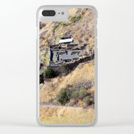 Remains of Gamla Clear iPhone Case