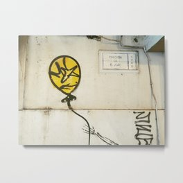 Macao Street Art Metal Print