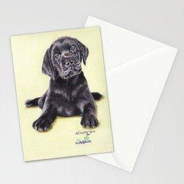 Original Pet Animals Artwork (non-profit) - Labrador Puppy Dog Pastel Stationery Cards