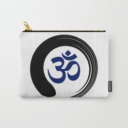 Namaste Zen Circle Meditation Prayer Ohm Aum Om Oum Peace Tai Chi Taiji Carry-All Pouch