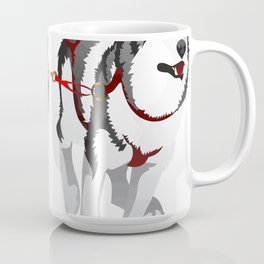 THE HUSKIES Coffee Mug