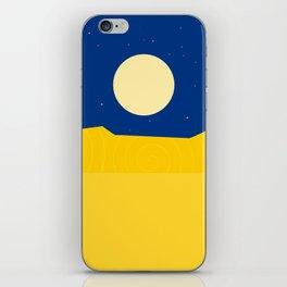 Desert night iPhone Skin