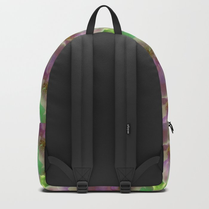 Tropical Pink Orchid Fantasy Backpack