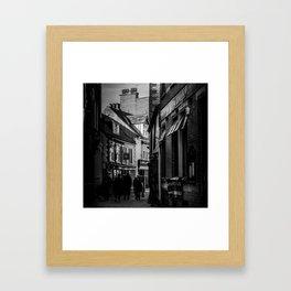 Grape Lane Framed Art Print