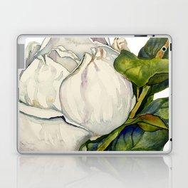 Magnolia with Leaves Laptop & iPad Skin