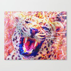 Rainbow Roar Canvas Print