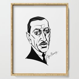 Igor Stravinsky Serving Tray