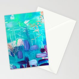 Mixed emotion Stationery Cards