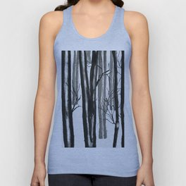 wood and snow Unisex Tank Top