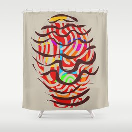 Amphora Shower Curtain