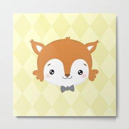 foxy baby Metal Print
