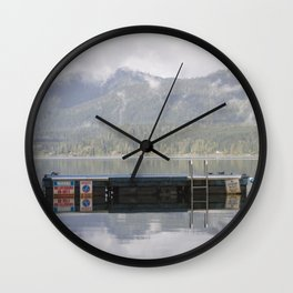 Warning: No Lifeguard On Duty Wall Clock